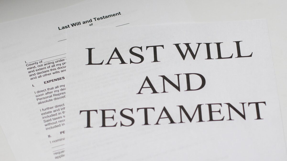 probate court change of will